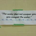 conquer the water