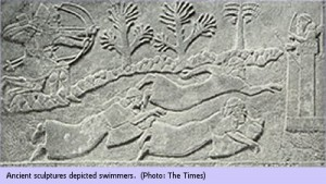 Ancient swimming