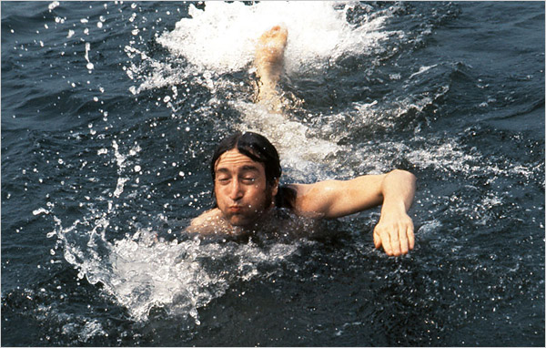 Lennon Swimming